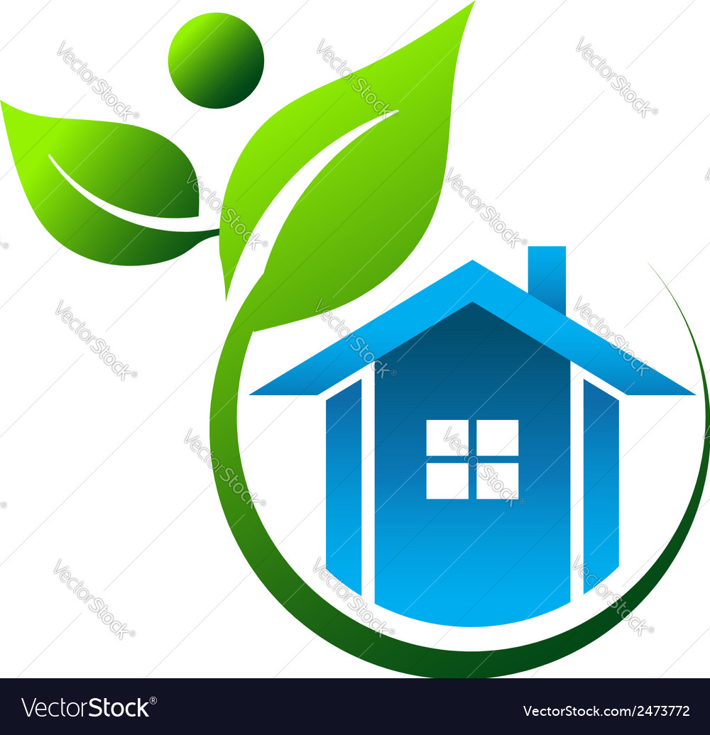 Natural house vector