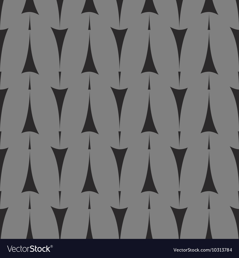 Tile pattern with arrows on grey background vector