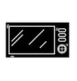 contour technology microwaves electric kitchen vector image