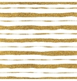 Seamless pattern of golden strokes vector image