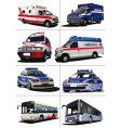Municipal transport vector image