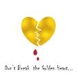 Broke Heart Concept vector image