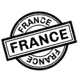 France rubber stamp vector image