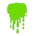 New green slime symbol vector image