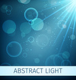 Abstract magic light background vector image
