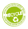 recycle stamp vector image