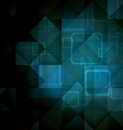 Abstract mosaic hi-tech background vector image vector image