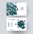 Business cards Design Template layout vector image
