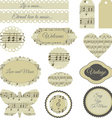 scrapbooking elements vector image