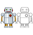 Robot toy vector image vector image