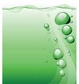 bubble backgrounds vector image