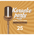 Karaoke party vector image vector image