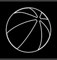 childrens ball it is icon vector image