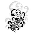 Vintage floral embellishment vector image