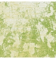 Green Grungy Texture vector image vector image