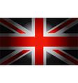 Black Flag British vector image