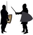 knight1 vector image