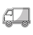 truck icon image vector image