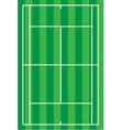 sport tennis court vector image