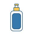 cream bottle isolated vector image