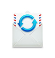 email concept realistic object isolated on white vector image