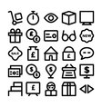 Trade Icons 2 vector image
