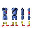 Soccer Sportswear stylish design vector image