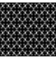 cross geometric seamless pattern vector image