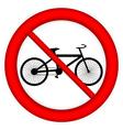 No bike icon vector image