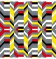 Colorful op art pattern vector image