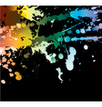 watercolor splash vector image vector image
