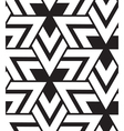 geometric seamless pattern Modern triangle texture vector image