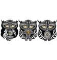 owls decorative design vector image