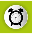 clock icon symbol design vector image vector image