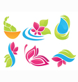 beauty of nature vector image vector image