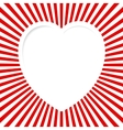 Red Valentine Card vector image vector image