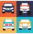 Cars concept design vector image