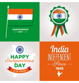 independence day card india vector image