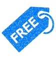 Free Tag Grainy Texture Icon vector image