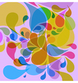 Retro colorful background vector image vector image
