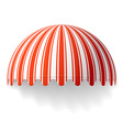 dome awning vector image vector image