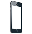 Black mobile apple iphone 5s and iphone 6 plus vector image