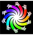 Hand like logo vector image vector image