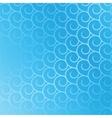 spirals seamless blue vector image