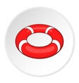 Lifeline icon cartoon style vector image