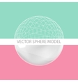 Sphere - design elements vector image