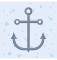Anchor nautical marine icon graphic vector image
