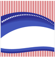 Background flag American vector image
