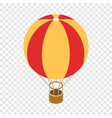 balloon isometric icon vector image