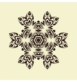 Vintage decorative mandala vector image